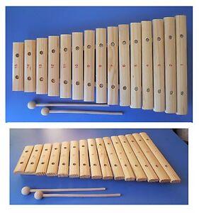 Xilofono-in-legno-laccato-2-bacchette-15-piastre-15-note-cm-42x24x4