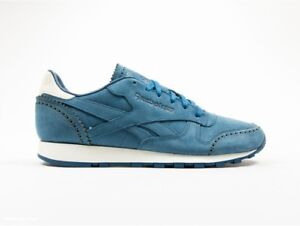Reebok-Classic-x-HORWEEN-CL-Leather-Lux-Size-12-Blue-RRP-130-AQ9962-Last-Pair