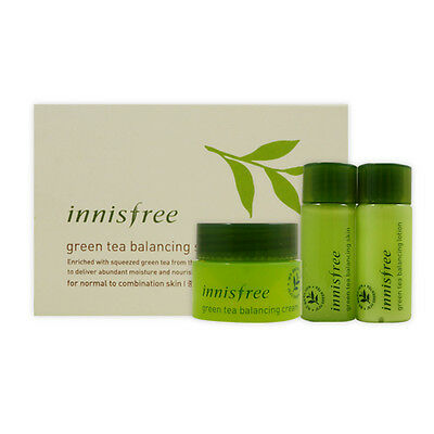 [Sample] [Innisfree] Green Tea Balancing Special Kit NEW