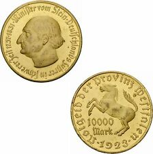 Deutsches Reich Provinz Westfalen 10000 Mark 1923 Freiherr vom Stein Jaeger 20a