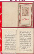 1910 SANTINO HOLY CARD AVE MATER ET DECOR CARMELI MARIA SS. DEL CARMINE