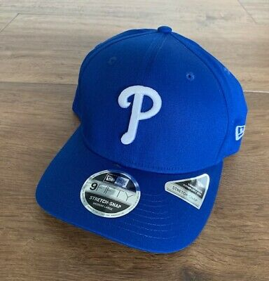 Qualità Al 100% New Era-mlb Philadelphia Phillies Cap 9 Fifty Stretch Snap Nuovo Snapback-
