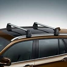 Item 5 BMW X5 (F15 Only) Genuine Profile Roof Rack Cross Bars 2014 Current  BMW  X5 (F15 Only) Genuine Profile Roof Rack Cross Bars 2014 Current