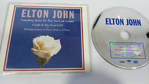 ELTON-JOHN-CANDLE-IN-THE-WIND-SINGLE-CD-1997-IN-MEMORY-OF-DIANA-3-TRACKS