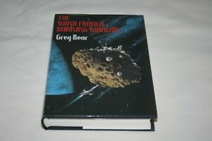SIGNED WIND FROM A BURNING WOMAN Greg Bear 1ST EDITION 2ND PRINTING 1983 MINT