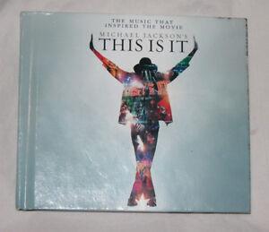 Michael-Jackson-039-s-This-Is-It-CD-2009-2-Discos-Epico-Contemporaneo-R-amp-b-EE-UU