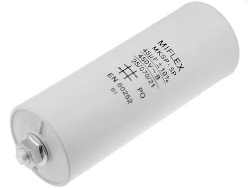 I150v645k-b Condensateur pour moteurs d/'exploitation 45uf 450 V ø45x119mm i150v645k-b1