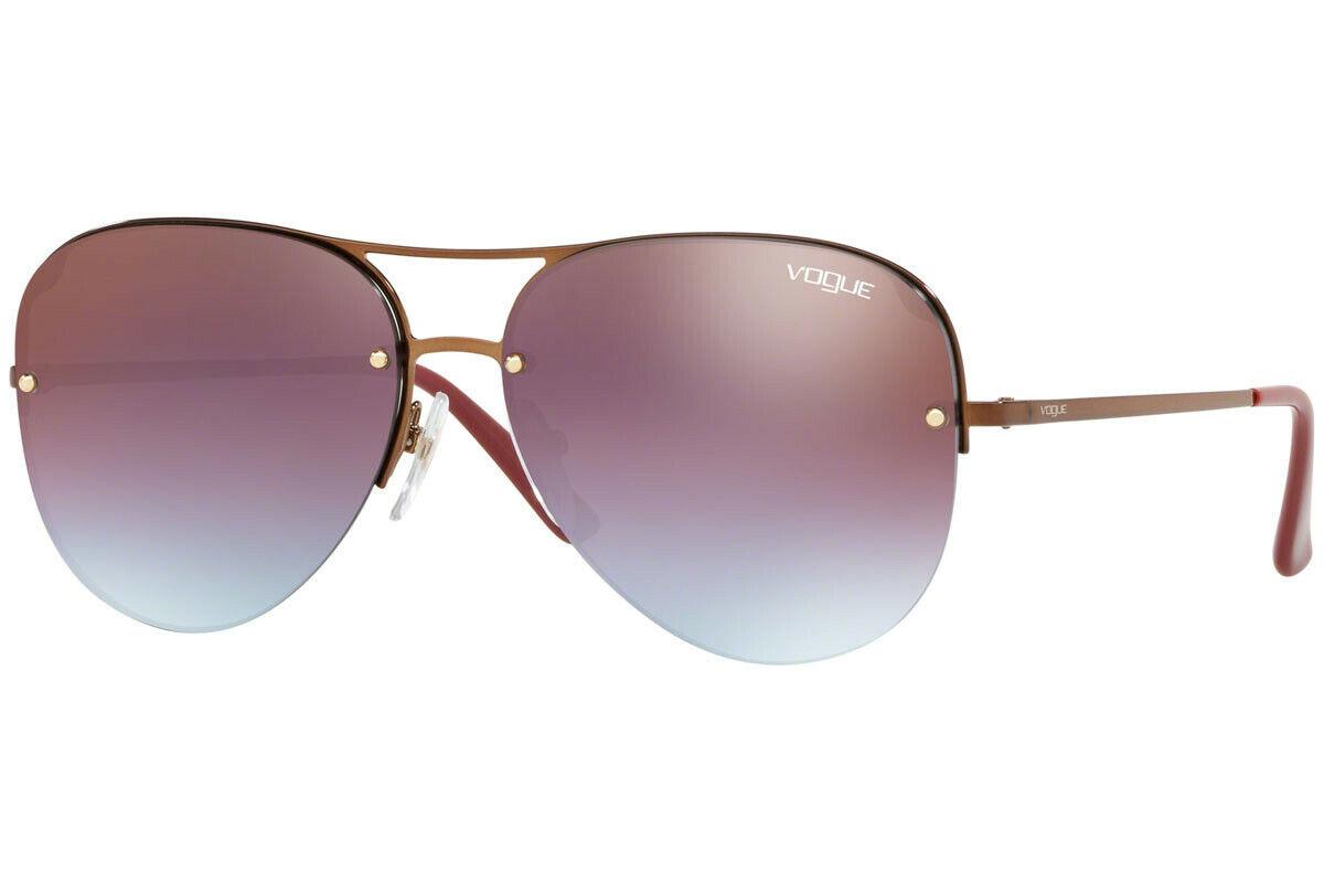 Authentic VOGUE VO4080S-5074H7 Sunglasses Copper/Purple *NEW* 58 mm