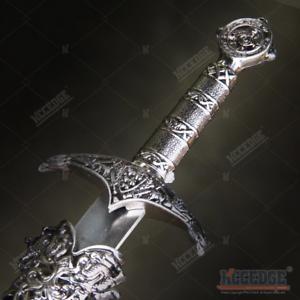"""13"""" Medieval Crusader Serpent Dagger Full Metal Handle Stainless Steel Blade"""