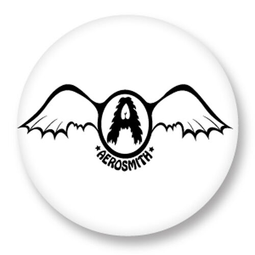 Porte clé Keychain Ø45mm Aerosmith Hard Rock Metal Band Rock And Roll Boston