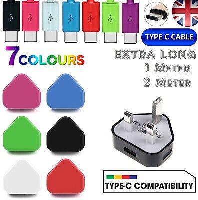 Caricabatteria Per Sony Xperia Xz/x Compact + Tipo C Usb Cavo Dati Sync Caricabatterie Piombo-