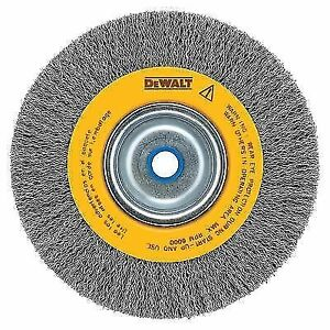Dewalt Dw4906 8 Inch Crimped Bench Grinder Wire Wheel Brush Ebay