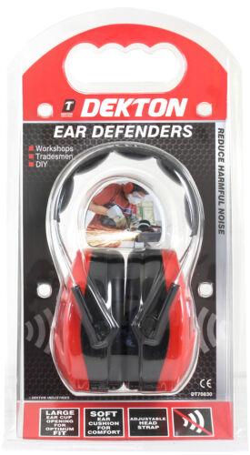 Noise Cancelling Ear Muffs Dekton Ear Defenders
