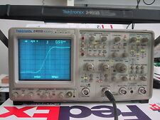 Tektronix 2465b 400mhz 4chan Portable Analog Oscilloscope Refurbedcald Bin