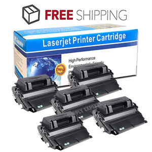 5PK Toner Cartridge Q1338A 38A for HP LaserJet 4200 4200DTN 4200DTNSL BEST DEAL!