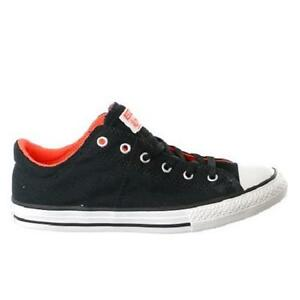 f76fbafb8ee8 Boy s Youth CONVERSE 653368F Black Chuck Taylor MADISON Sneakers ...