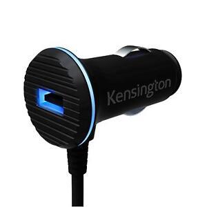Kensington Dual Port Powerbolt Lightning Car Charger for iPhone 5 6 7 8 X XS XR