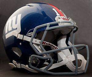 Beckham Jr Edition New York Giants Nfl Riddell Speed Football Helmet