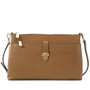 d56ddd6128c6 MICHAEL KORS Mercer Large Snap Pocket Crossbody Bag - Acorn Retail ...