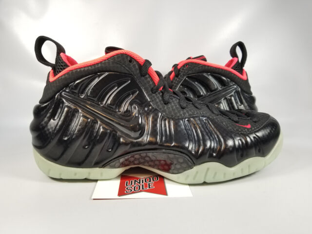 cd7b8f9e63440 Nike Air Foamposite Pro YEEZY SOLAR BLACK LASER CRIMSON RED 616750-001 sz  7.5