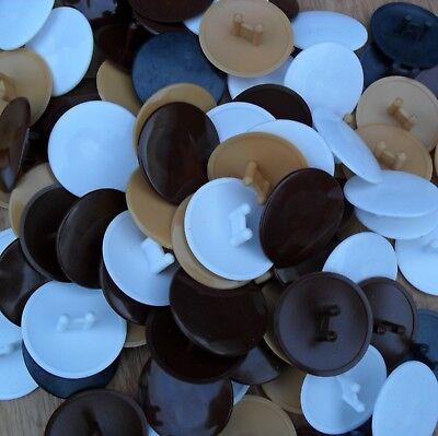 10 Stück Zaunpfahlkappen rund Zaunkappen Pfostenkappen Abdeckkappe Sockel Deckel
