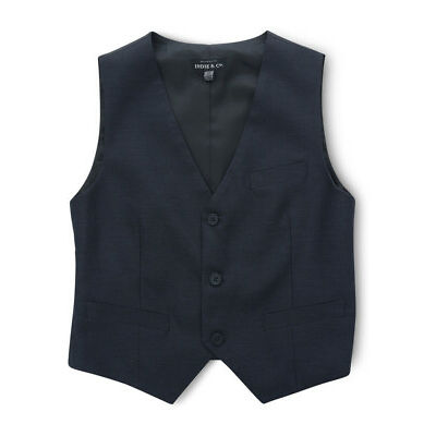 NEW Indie Kids by Industrie Sandhurst Vest 8-14 Navy