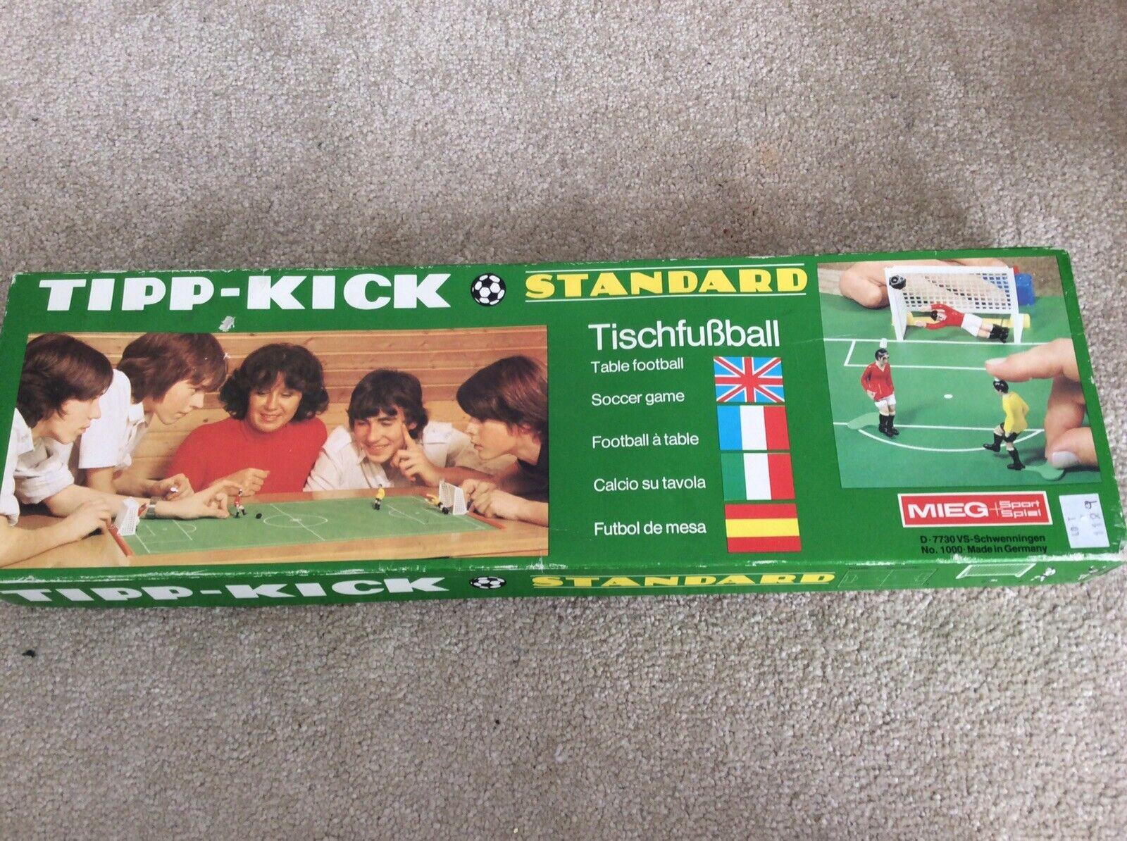 Vintage Tipp-kick Football Game Complete