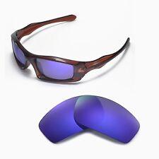 New Walleva Polarized Purple Lenses For Oakley Monster Pup