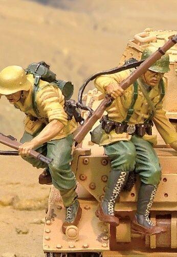 The Collectors ShowCase Africa Korps CS00441 tedesco Panzer IV Carroarmato