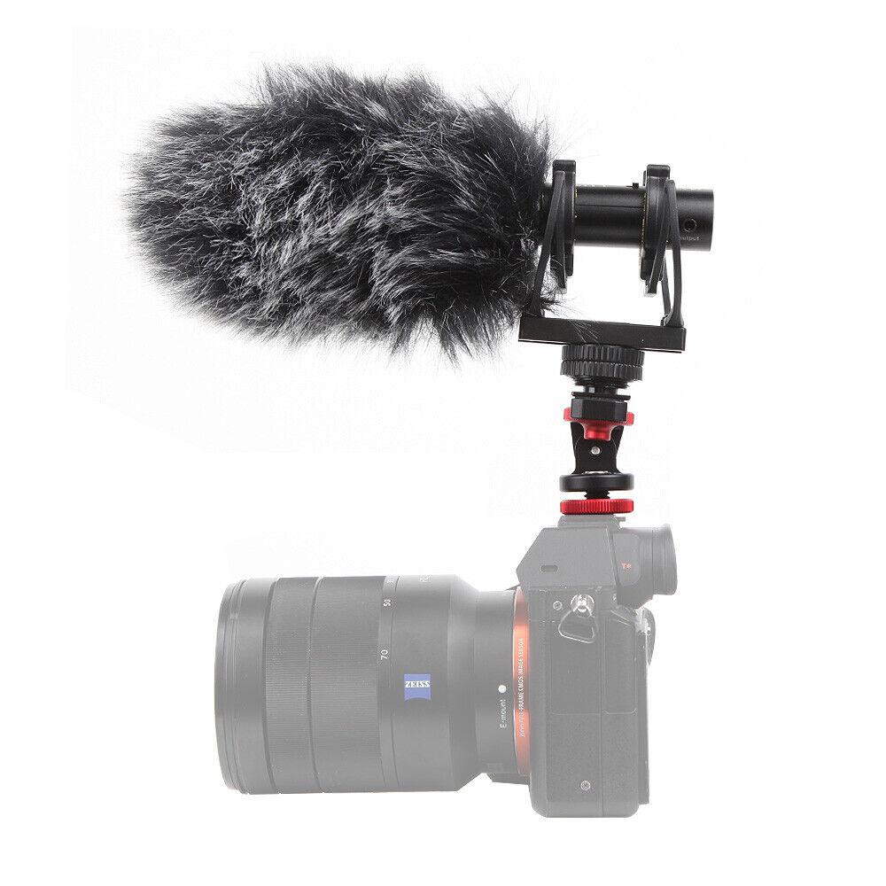 Deity V-Mic D3 Super-Cardioidl Shotgun Microphone Rycote Shockmount+ Wind Shield