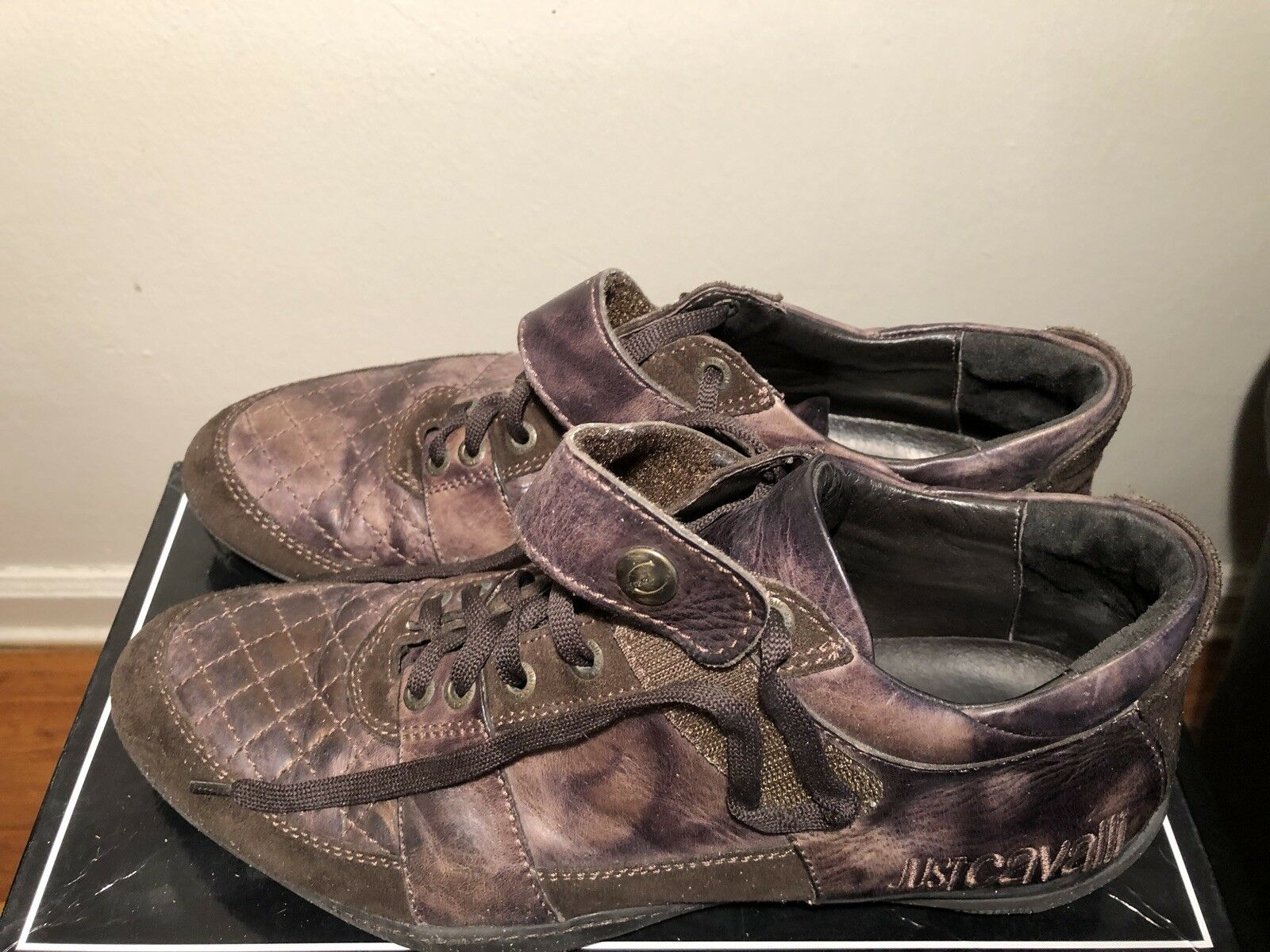 Just cavalli Uomo brown shoes size 10 us us us d72d1e