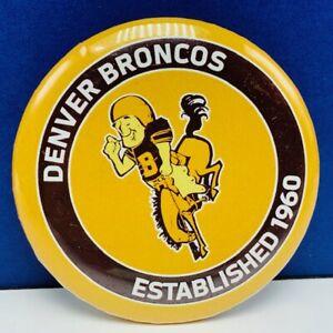 Denver-Broncos-pinback-button-pin-vtg-established-1960-NFL-football-wincraft-1