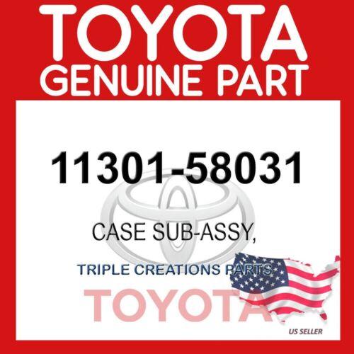 TIMING GEAR 1130158031 OEM GENUINE Toyota 11301-58031 CASE SUB-ASSY