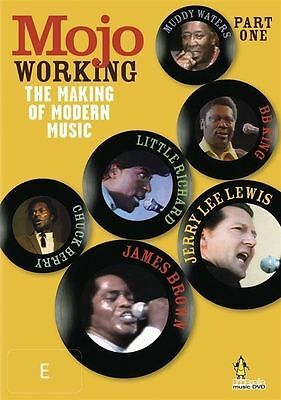 MOJO WORKING the making of modern music part one (PAL Format DVD. Region 4)