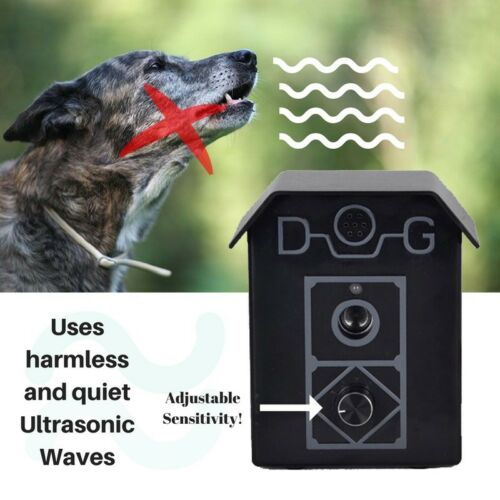 Ultrasonic STOP BARKING DOGS UP TO 15M Multiple Dogs NO COLLAR Dog Bark Stopper