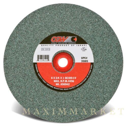 "6/"" CGW Green Silicon Carbide Grinding Wheel for Stump Grinder Teeth Sharpening"