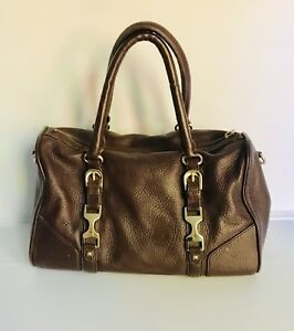 Taylor Ann Leather Pebble Grain Cognac Handbag n0PkOw