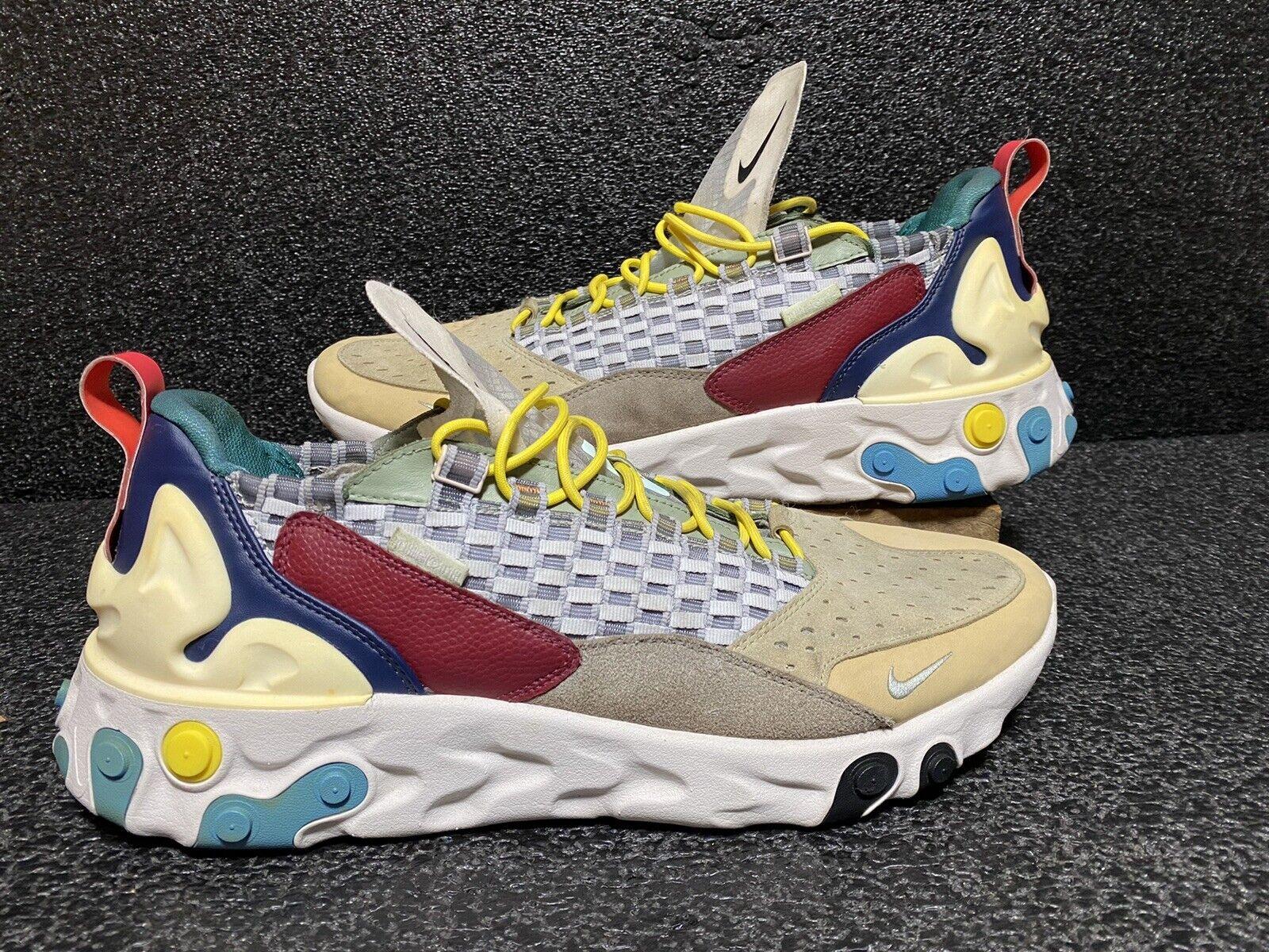 [AT5301-001] Nike React Sertu Wolf Grey/Teal Tint-Pumice Men's Size 14