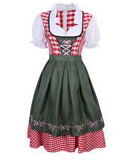 US STOCK New Oktoberfest Traditional German Beer Dirndl Fraulein Dresses Costume