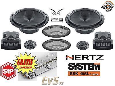 Kit 300W Hertz ESK165L.5 Sistema Casse 2 Vie Completo 165mm 16,5cm + Omaggio STP