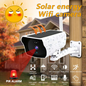 Wireless-HD-1080P-Solar-Power-WiFi-IP-Outdoor-Home-Security-Camera-Night-Vision