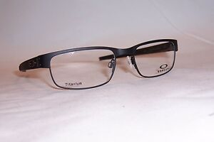 38e4b96ed5 NEW OAKLEY EYEGLASSES METAL PLATE OX 5038 22-198 BLACK 53mm RX ...