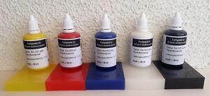 Pigmentpaste Farbkonzentrat einfärben von Epoxyd Gießharz 50g Abtönfarbe ,...