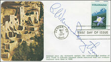 CHARLES WARREN BONYTHON - FIRST DAY COVER SIGNED