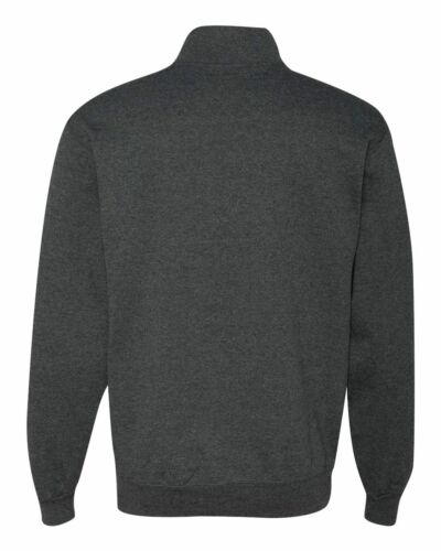 JERZEES Quarter Zip Cadet Collar Sweatshirt 50//50 Men/'s Fleece S-3XL 995MR-995M