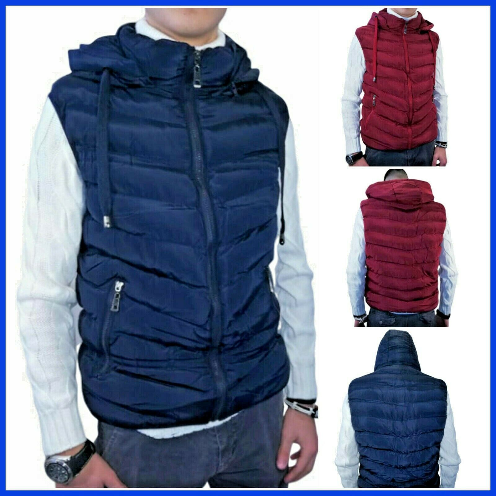 Piumini da uomo smanicati e giacche invernali: le proposte