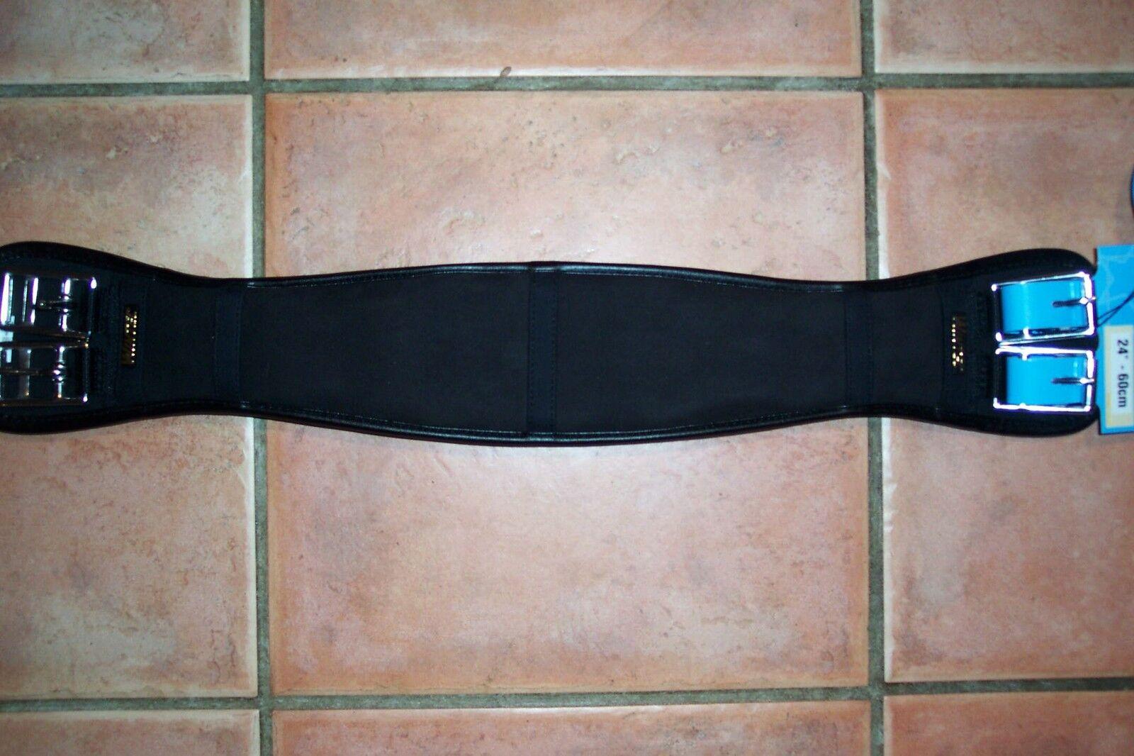neue Wintec PRO Sattelgurt Kurzgurt in black 80 oder 90 cm