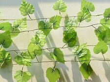 "Five 90"" Grape Leaf Vines Artificial Ivy Hanging Home Wedding Arch Decoration"