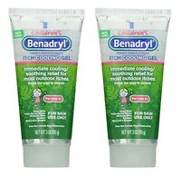 2 Pack - Benadryl Children's Anti-itch Cooling Gel 3oz Each