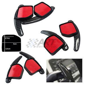 Levas volante Audi A1 A3 A4 A5 A6 A7 A8 Q5 Q7 R8 efecto carbono paddle shift